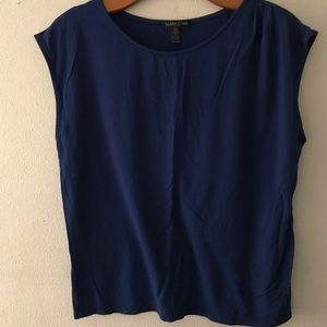 Eileen Fisher Blue Top